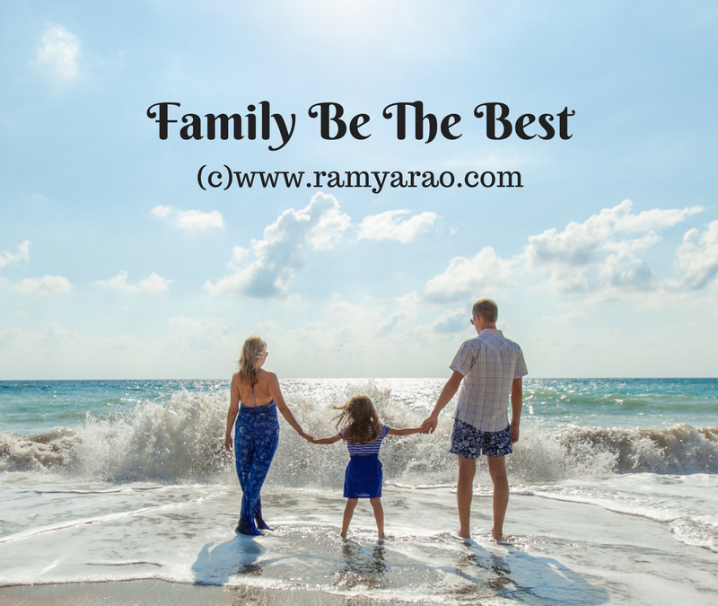 Family Be The Best  #AToZChallenge