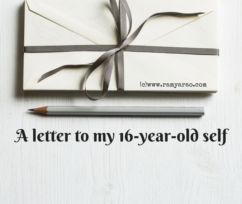 A letter to my 16-year-old self