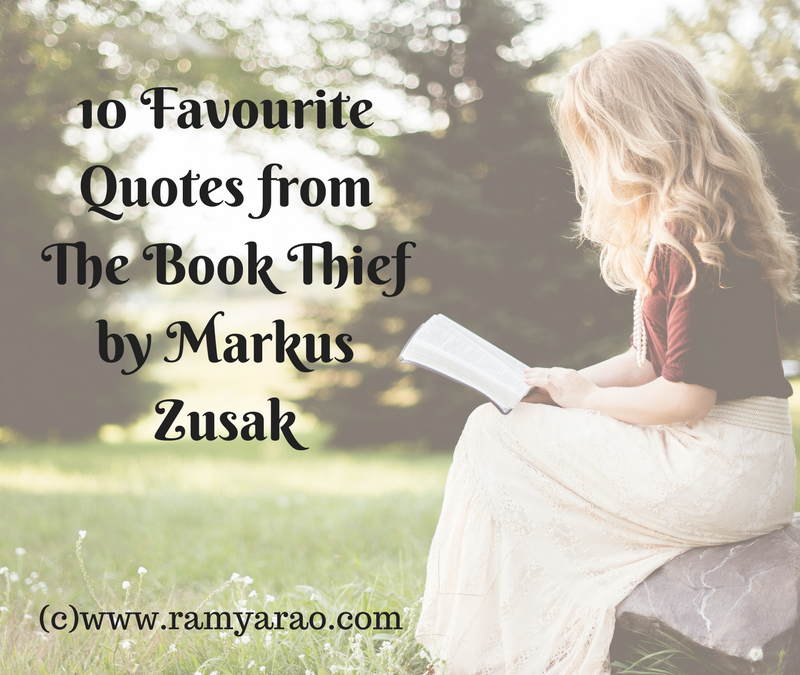 10 Favourite Quotes from The Book Thief by Markus Zusak